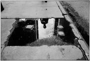 Sidewalk Reflection