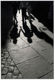 Strolling an Old Street In Madrid