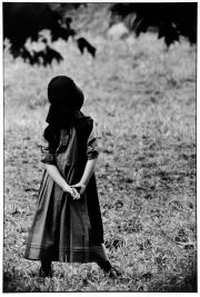 Amish Girl at Recess
