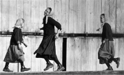 Amish Girls at Play