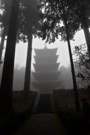 Taiseki-ji Pagoda. December 2020 ©William E. Lyons